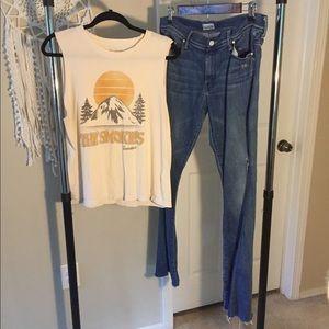 Mother Denim The Weekender Jeans